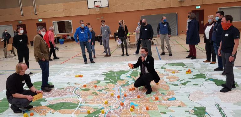 Karte der Veränderung Lüneburg